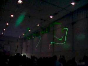 Laseranimation - Lichtanlagen Show